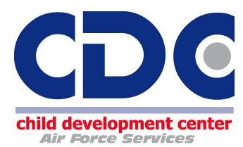 CDC logo AF