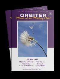 April Orbiter Cover